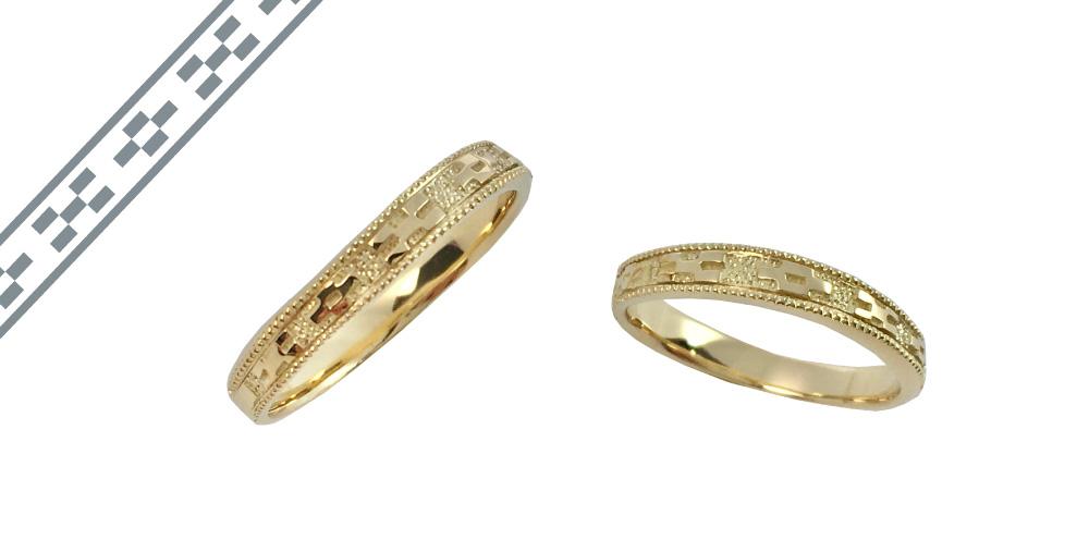 ミンサー指輪ーYGK18-