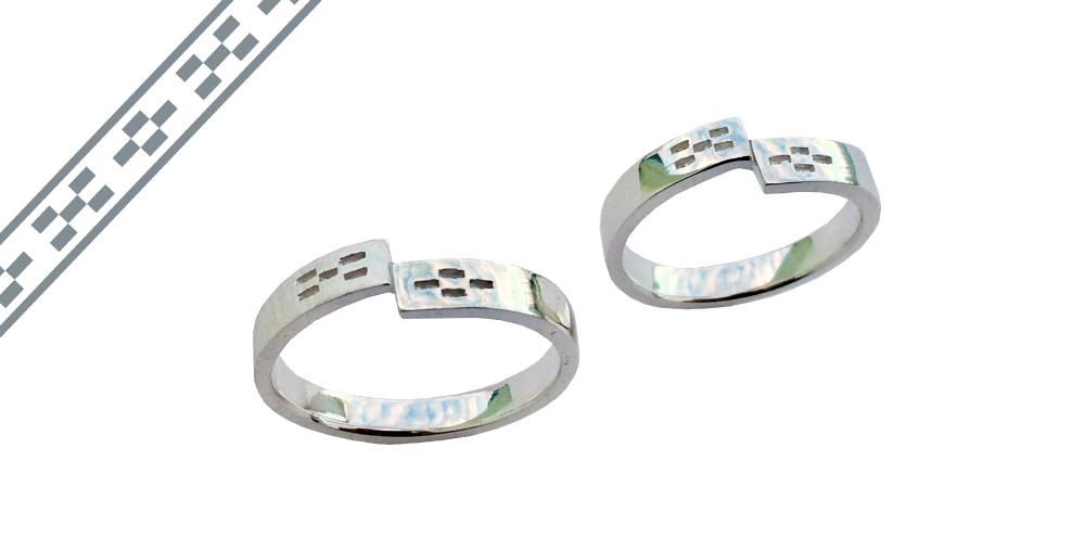 ミンサー指輪-重なり-type2
