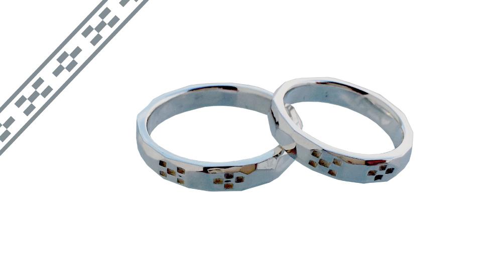 ミンサー指輪ーかたい絆