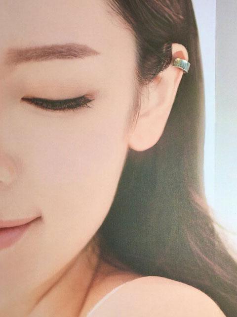 【槌目耳飾り】-純銀-