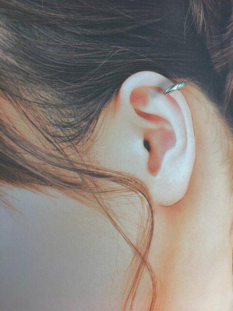 【螺旋 耳飾り】-純銀-