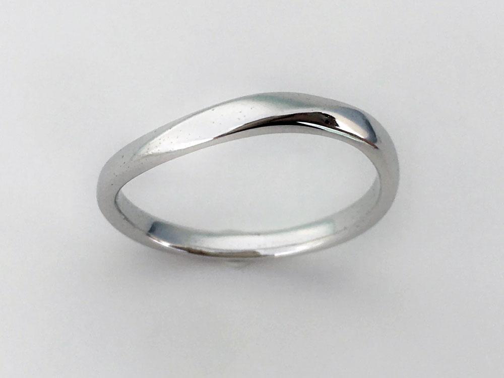 ミンサー指輪ツイストウェーブ3