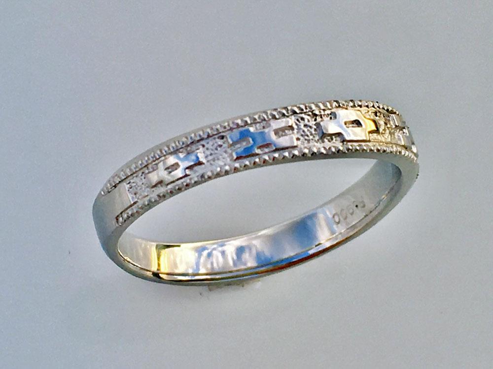 ミンサー指輪ペア1