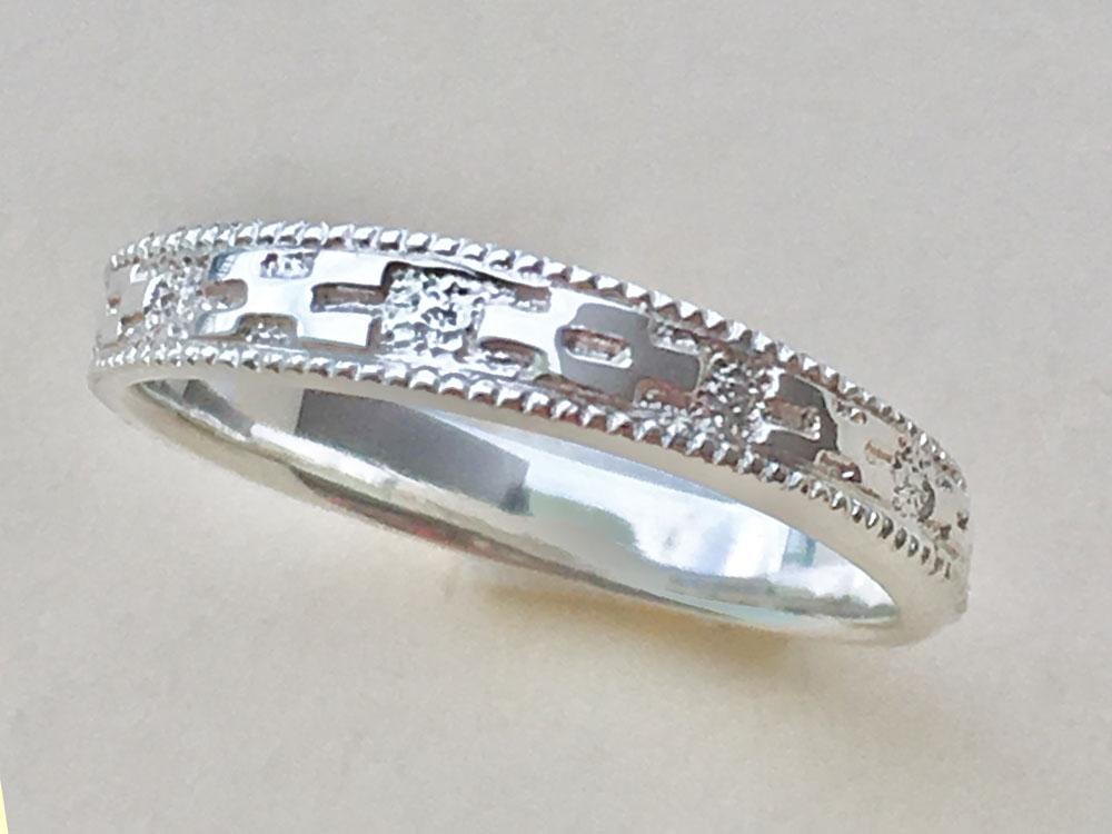 ミンサー指輪ペア2