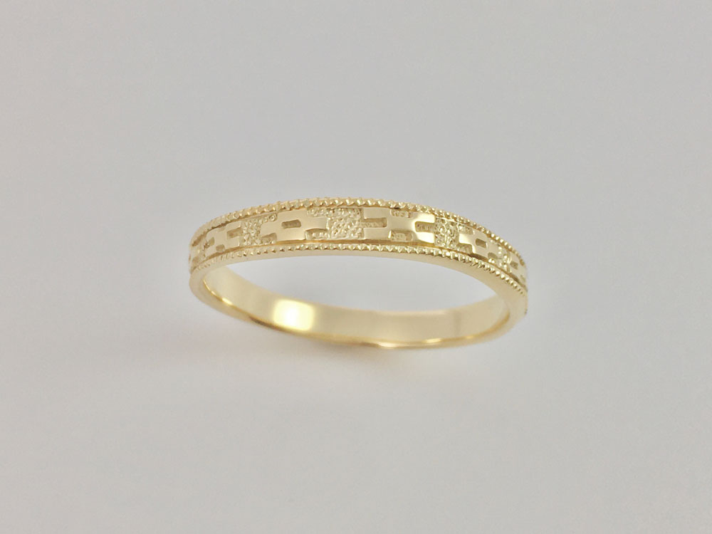ミンサー指輪ーYGK18-2