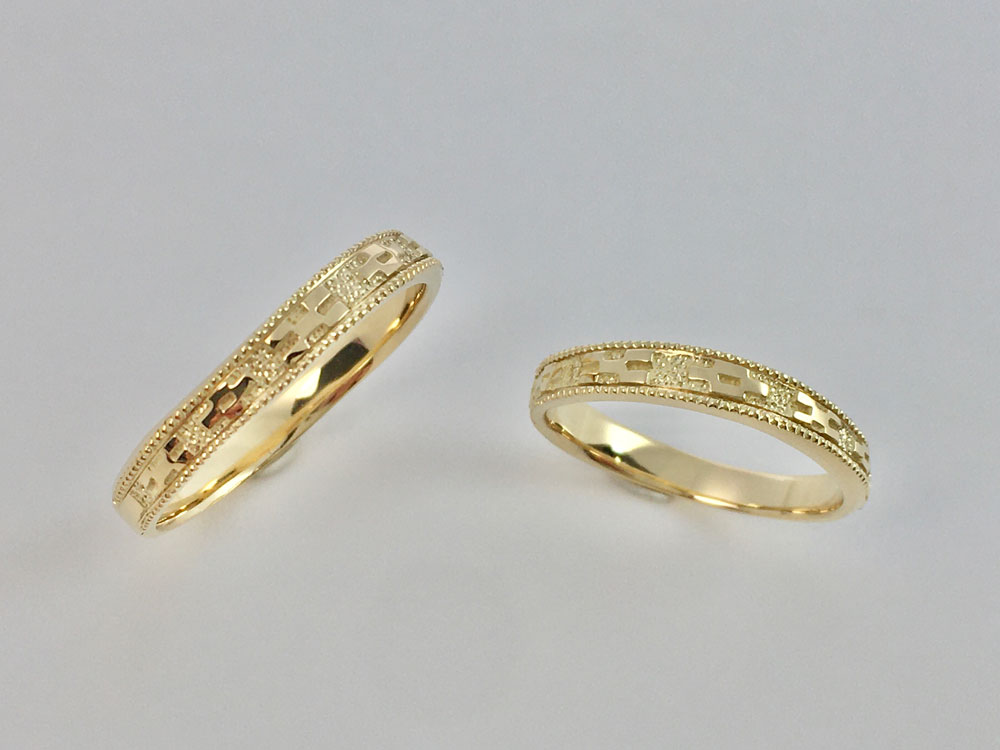 ミンサー指輪ーYGK18-3