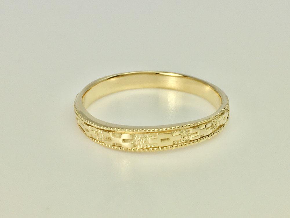 ミンサー指輪ーYGK18-6