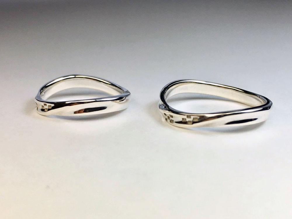 ミンサー指輪-海波-3