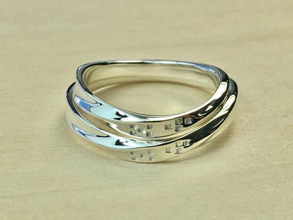 ミンサー指輪-海波-5