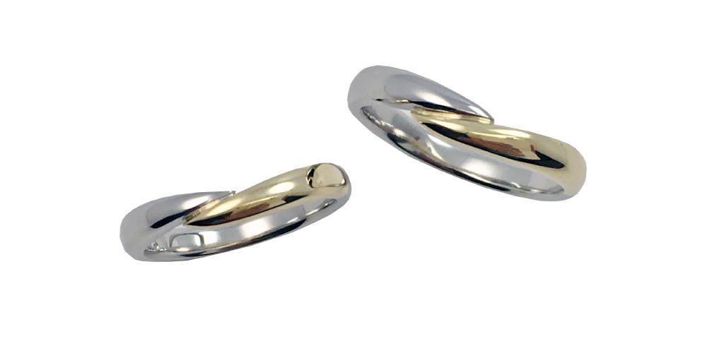 繋ぐ--hand-&-hand--指輪-type‐3
