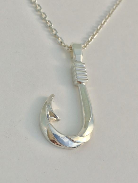 釣り針ペンダント-海風-