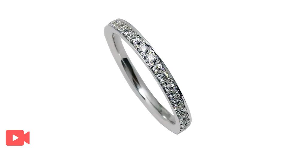 結婚指輪(1M0BR-7)動画あり女性用