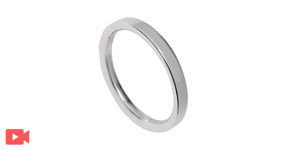 結婚指輪(1M0BR-7)動画あり男性用