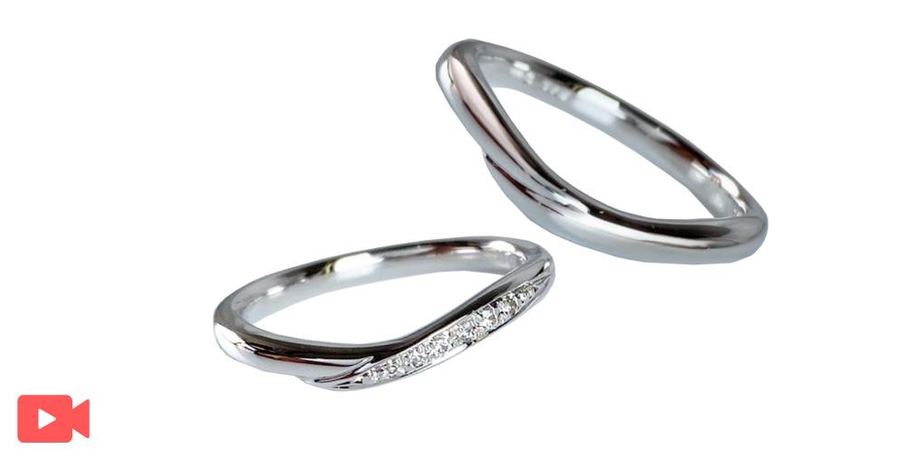結婚指輪(1M0BR-9)動画あり