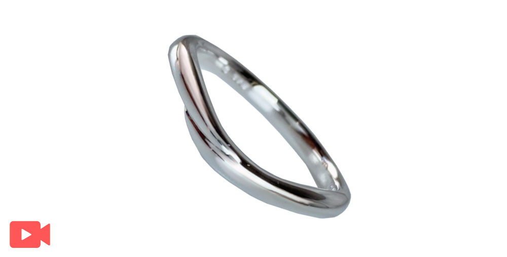結婚指輪(1M0BR-9)男性用動画あり