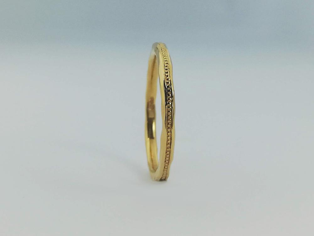 イエローゴールド結婚指輪12
