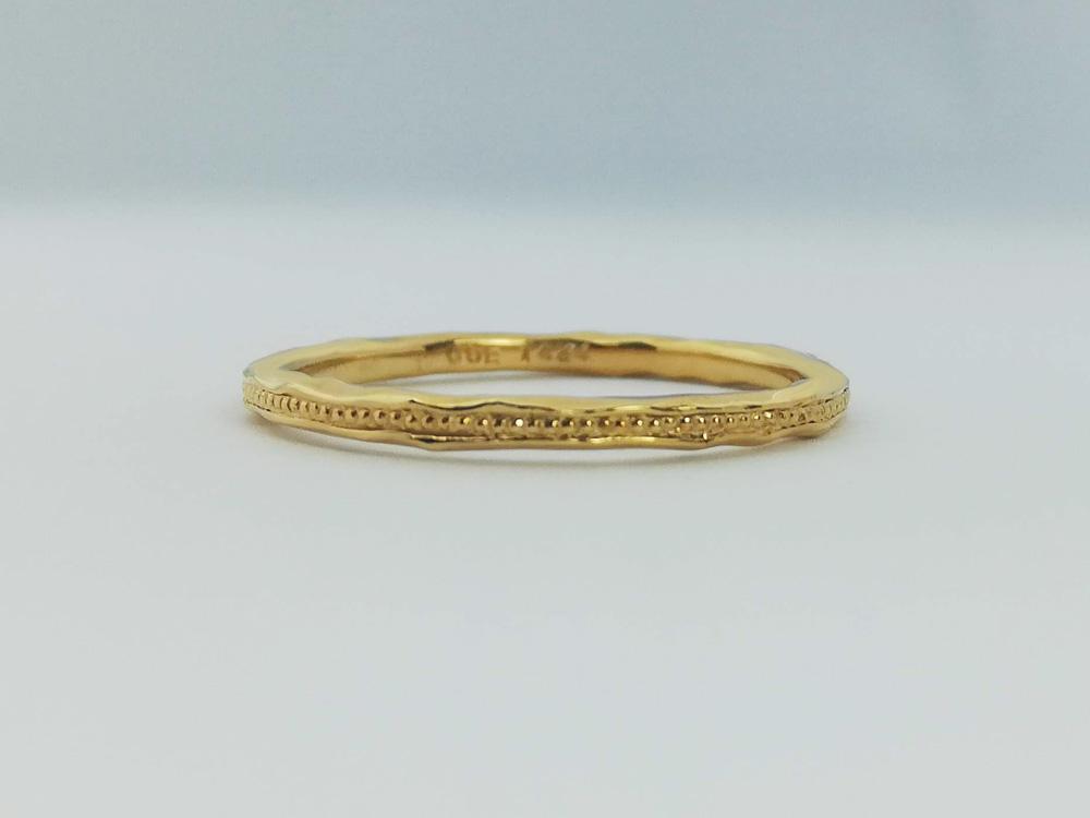 イエローゴールド結婚指輪15