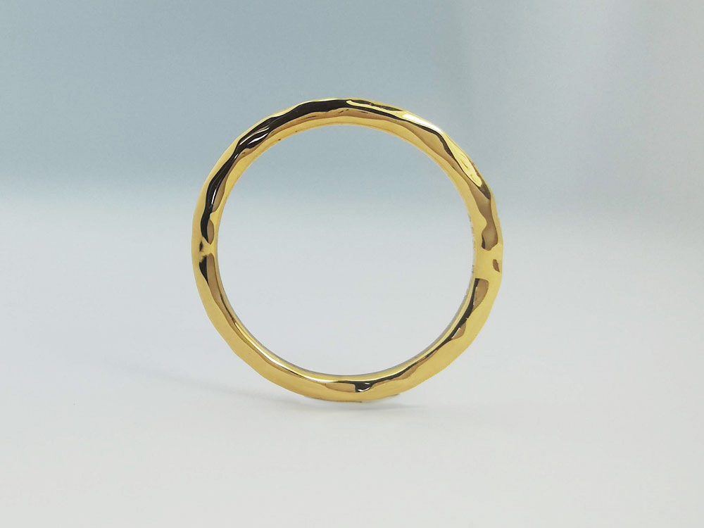イエローゴールド結婚指輪4